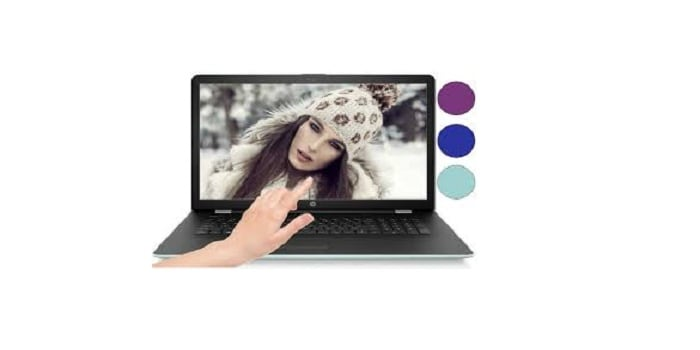 HP 15.6 Touch Screen Laptop Display