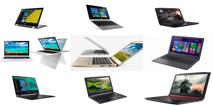 top 10 Acer laptops 2019