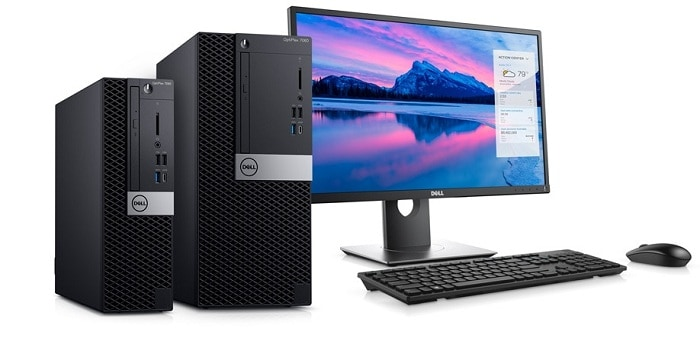 As A Workstation Of Dell OptiPlex 7060 SFF Desktop