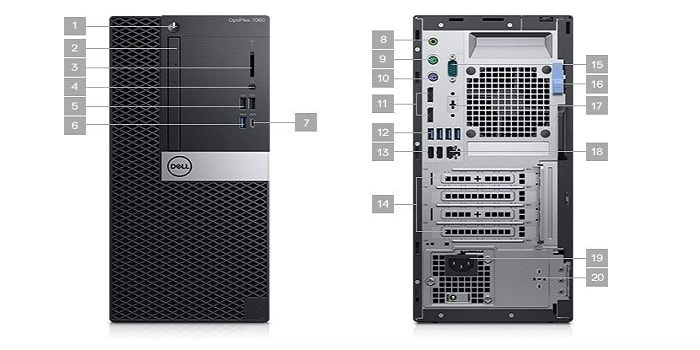 Dell OptiPlex 7060 SFF Desktop Additional Spec