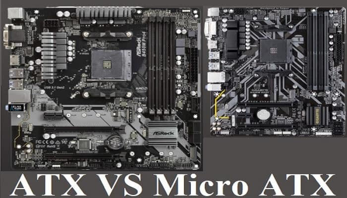 Differences between ATX and Micro ATX motherboard