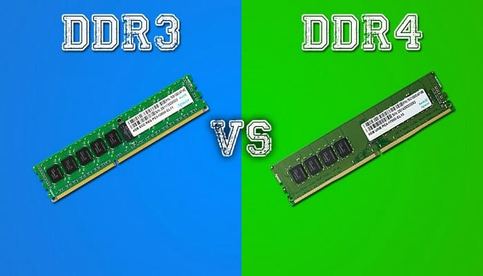 Differences between DDR3 and DDR4 RAM