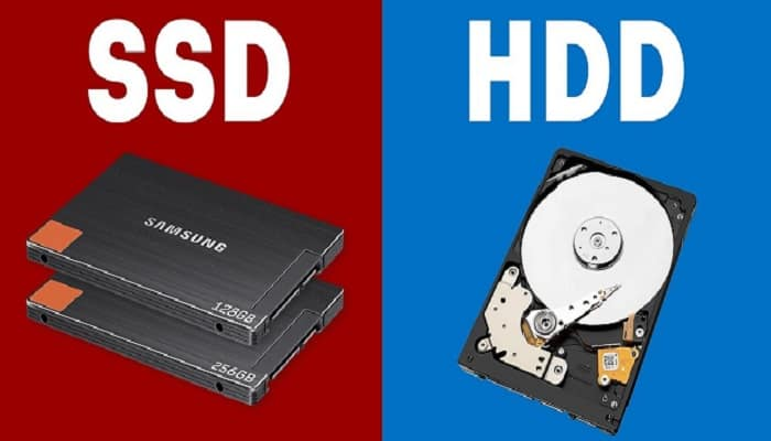Differences between SSD and HDD