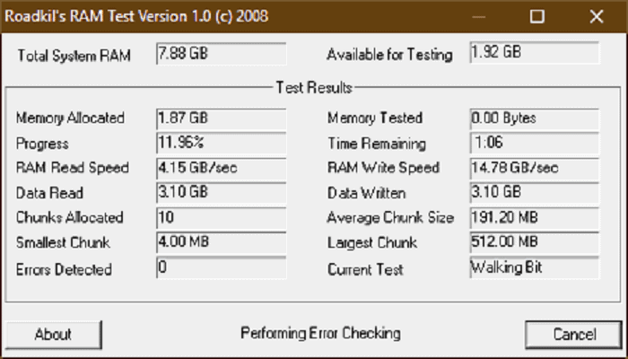 What is the RAM Speed